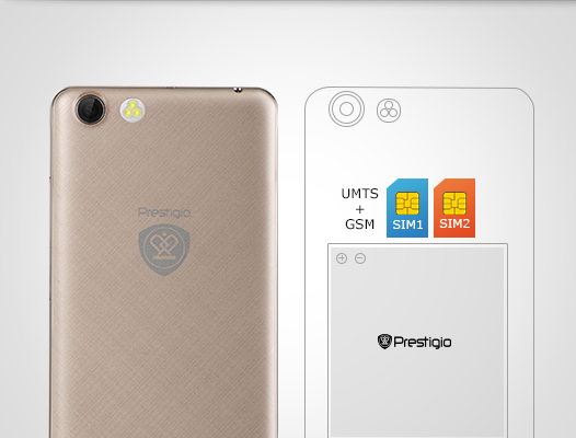 Smartfon Prestigio Muze D3 PSP3530DUO Czarny