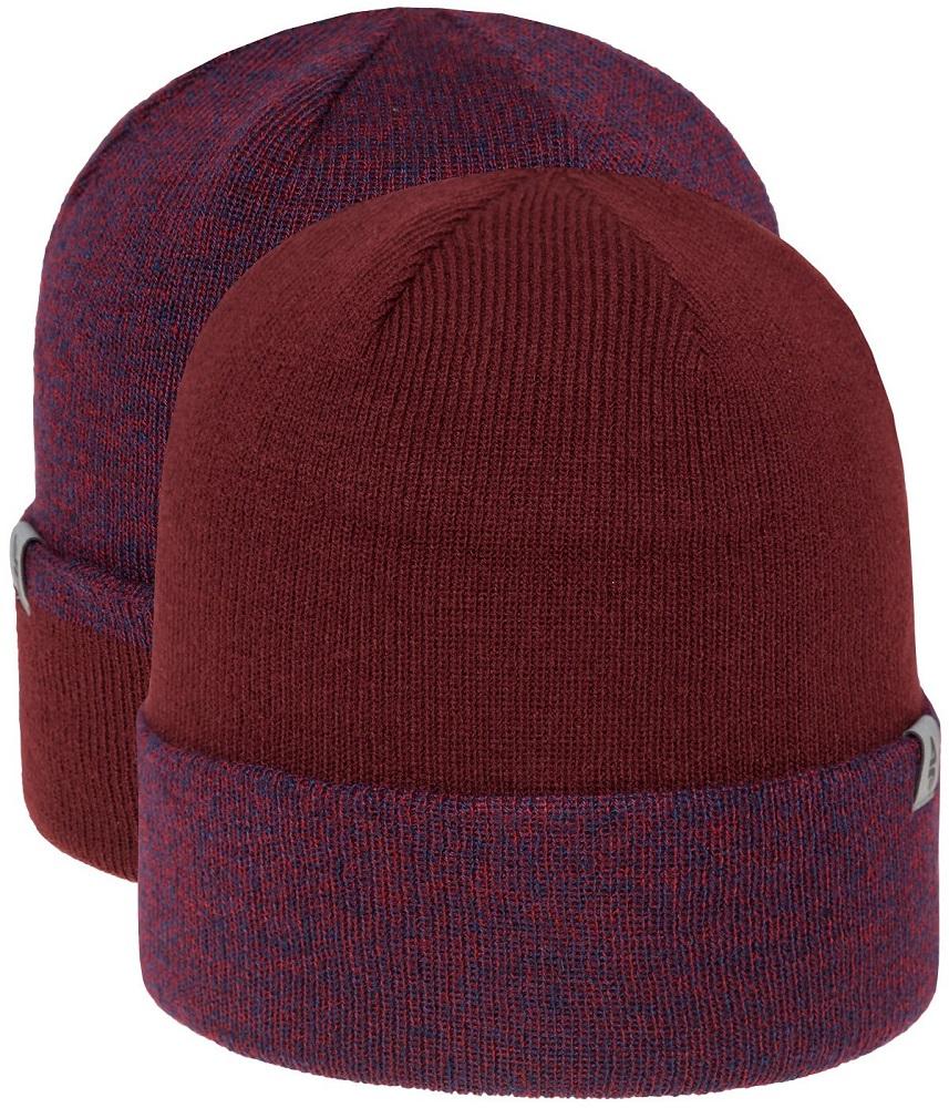 1b2bfc8ad83264 Ciepła czapka zimowa, dwuwarstwowa, wykonana z miękkiego i przyjemnego  materiału. dwuwarstwowa; podwijany mankiet; odblaskowe logo na froncie;  dwustronna