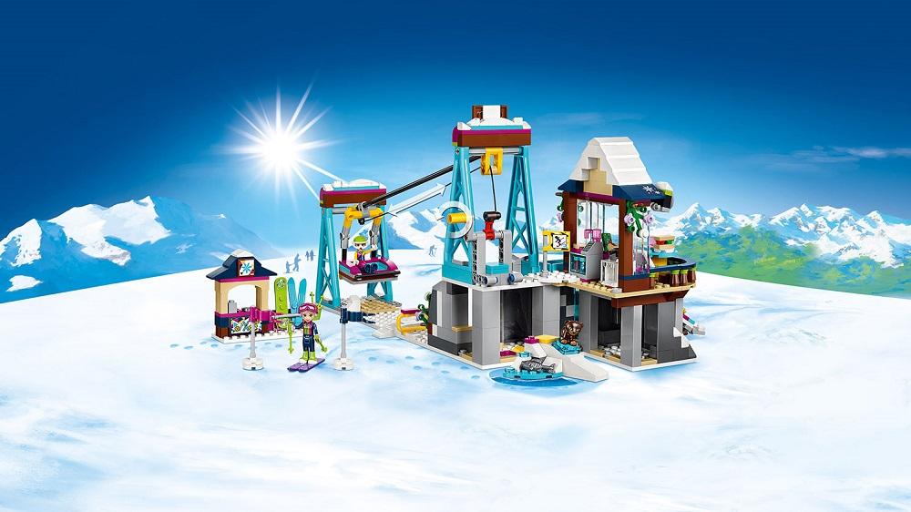 Klocki Lego 41324 Friends Wyciąg Narciarski
