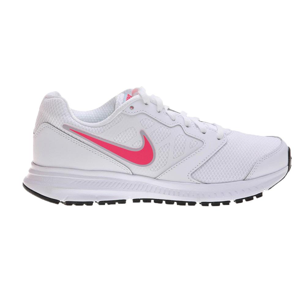 buty sportowe biało różowe nike
