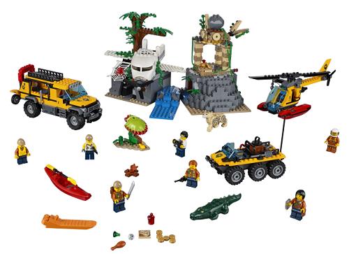Klocki Lego 60174 City Górski Posterunek Policji Sklep Online