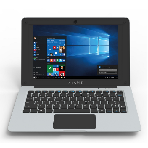 Laptop KIANO Slimnote 10.1 Mini windows 10 srebrny-29941